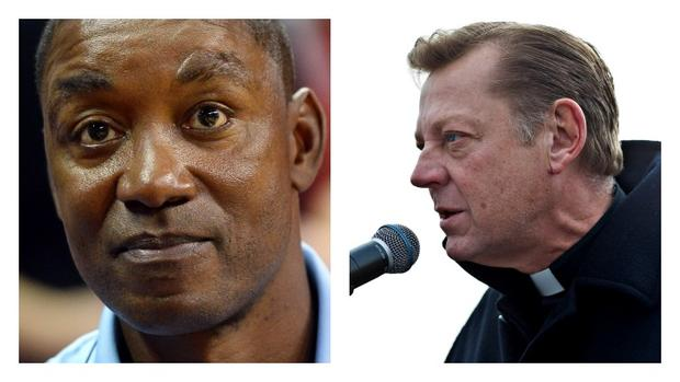 Isiah Thomas and Father Pfleger