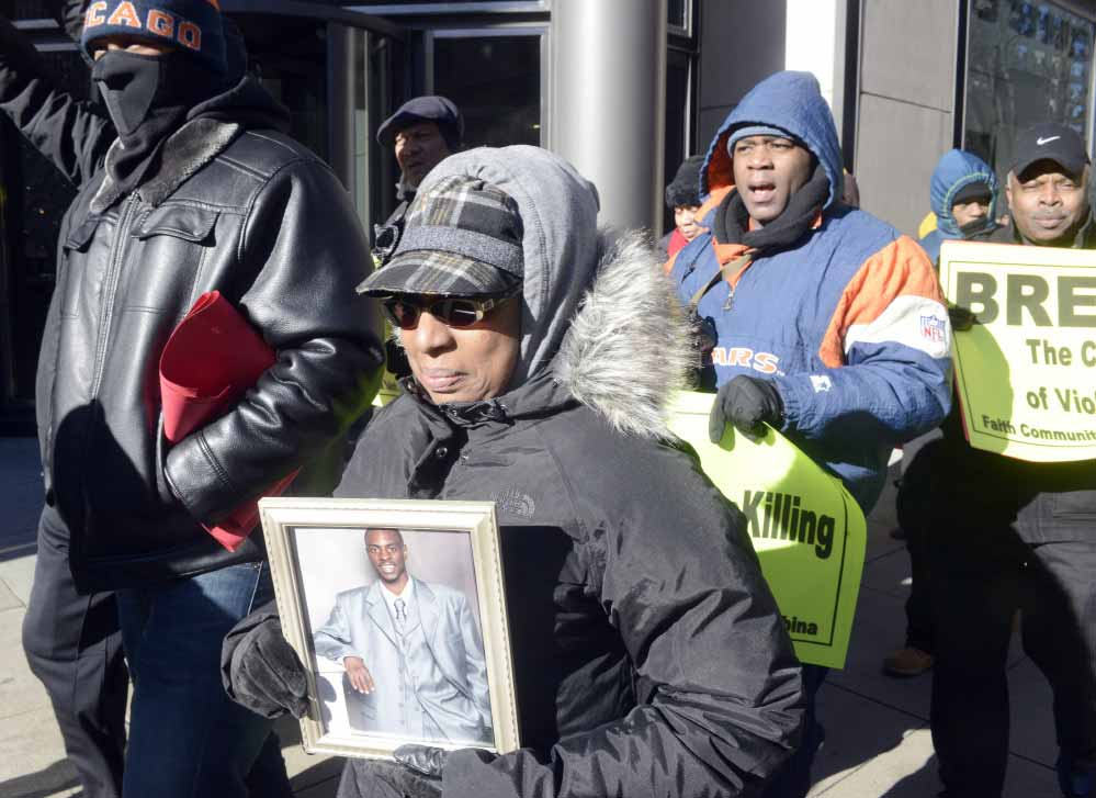 Peace March-Dec 31, 2014 -Chicago Sun Times -Photo by Michael Schmidt