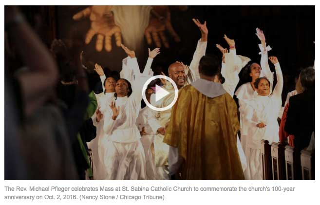 Chicago Tribune St.Sabina Celebrates 100 years