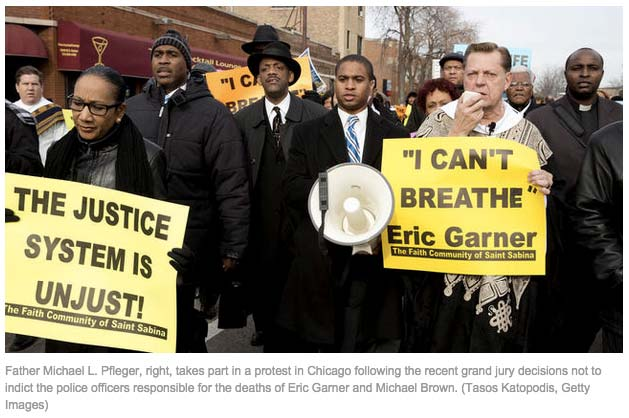 Chicago Tribune - Protests seek to clean up the dirt of injustice by Rev. Michael L. Pfleger