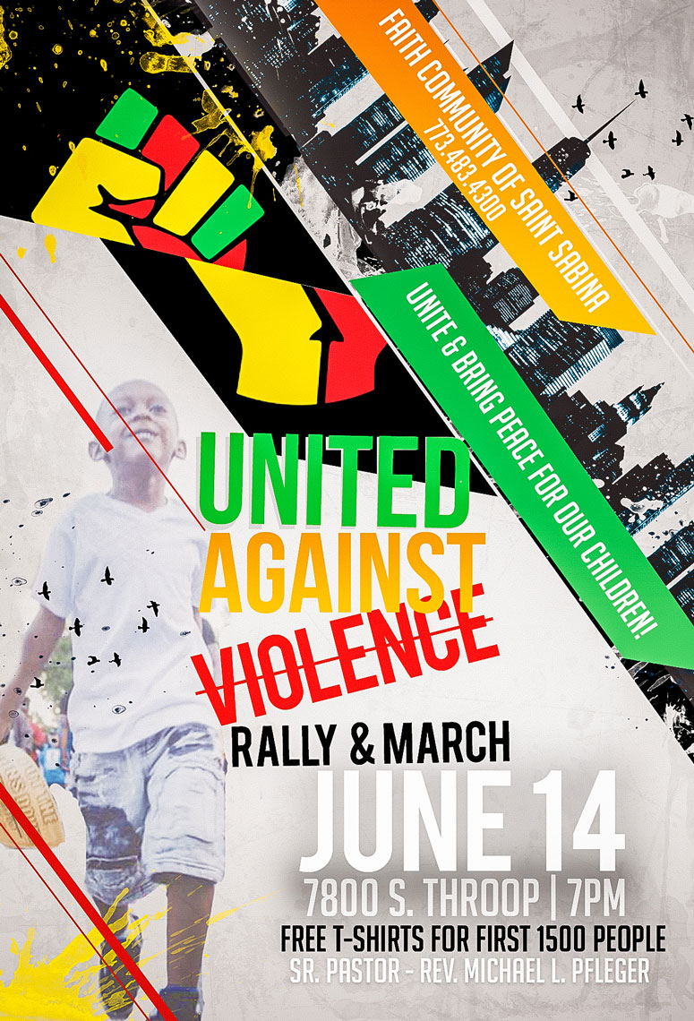 Chicago United Against Violence - Rally and March on June 14th