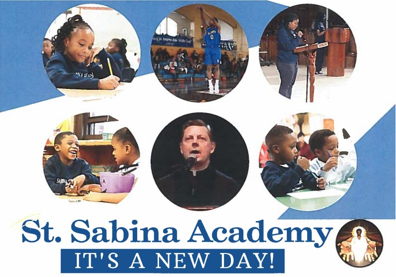 St Sabina Academy - Its a New Day. Enroll for the 2020-2021 school year