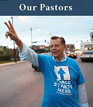 Father Michael Pfleger Senior Pastor and Father Thulani Magwaza Pastor