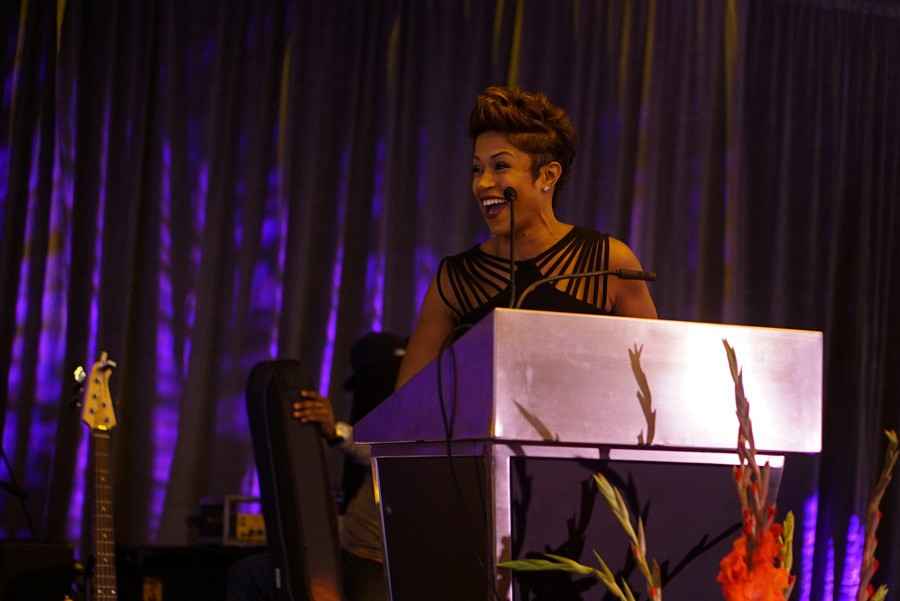 100th Anniversary Gala | Master of Ceremonies, Val Warner, co host, Windy City Live | photo by Mack Julion