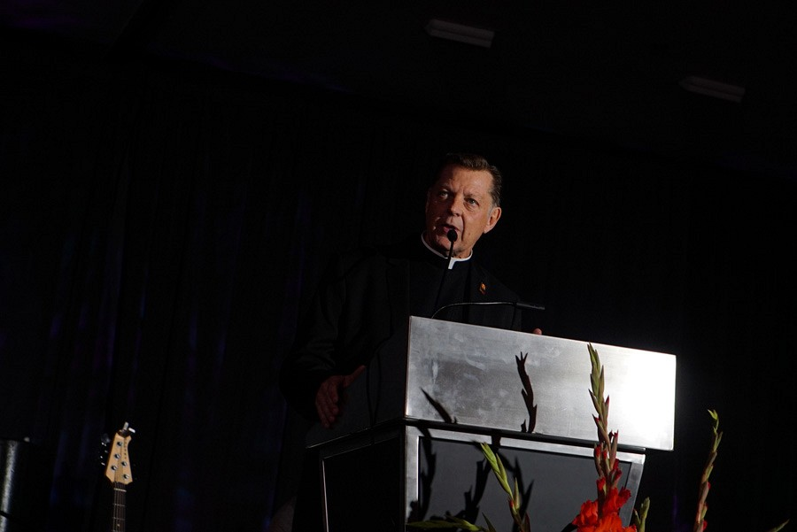 100th Anniversary Gala | Pastor Pfleger | photo by Mack Julion