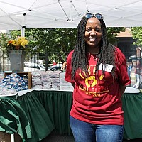 Day of Service on July.9.2016. _ Glenda Franklin_ photo by Chinta Strausberg