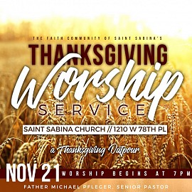 Thanksgiving Worship