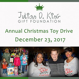 Julian D. King Foundation Christmas Toy Drive