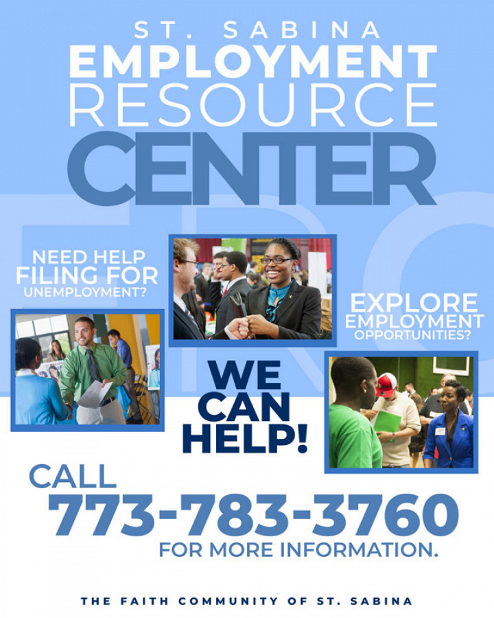 The Employment Resource Center of Saint Sabina