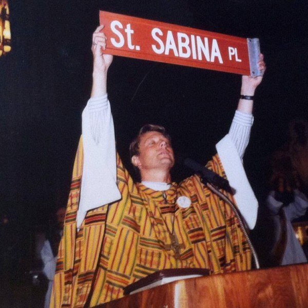 Father Pfleger St. Sabina Sign 600
