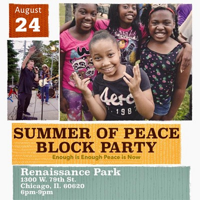 Summer of Peace Block Party